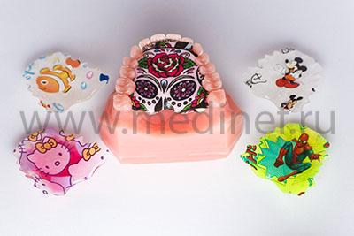 Пластинки для детей с нанесением рисунка