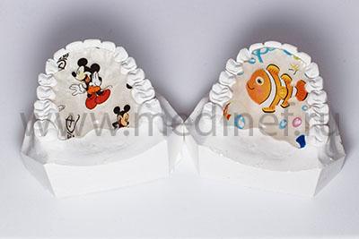 Детские пластинки с нанесением рисунка